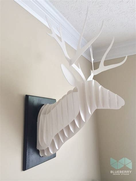 1000 ideas about cardboard deer heads on pinterest