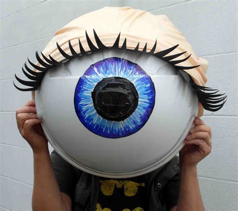 How To Make A Paper Eye - obscura construction