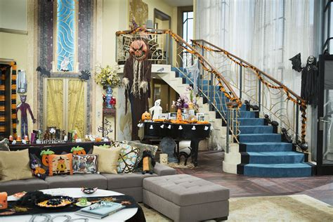 home decorating channel halloween decor tips from monstober set designers disney