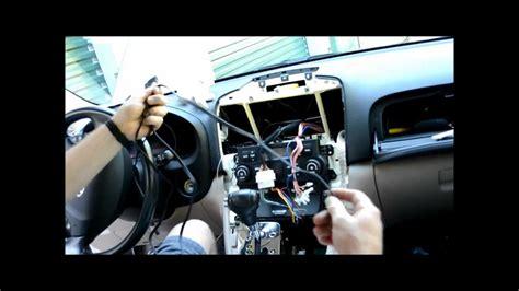 hyundai tucson radio removal car stereo install upgrade on 2007 hyundai