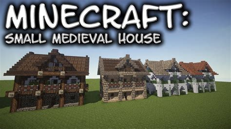 medieval minecraft house designs minecraft small medieval house tutorial 1 youtube