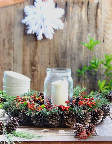 beautiful fast easy diy pinecone wreath improved version a of rainbow