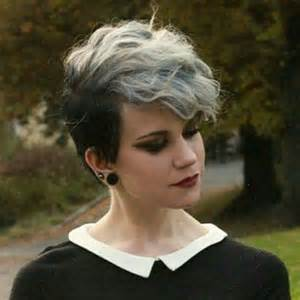 pixie grey hair styles long bang pixie cut the best short hairstyles for women 2016