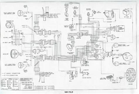 harley flstc wiring diagram headlight davidson 1998