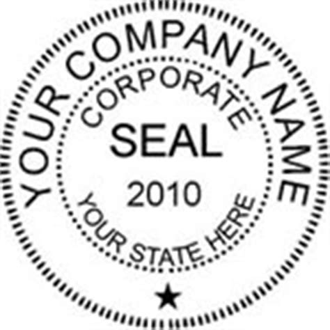 company seal template corporate stshopcentral st seal embosser