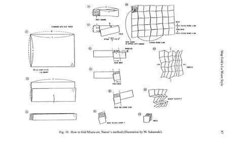 Origami Map Fold - dave s web corner