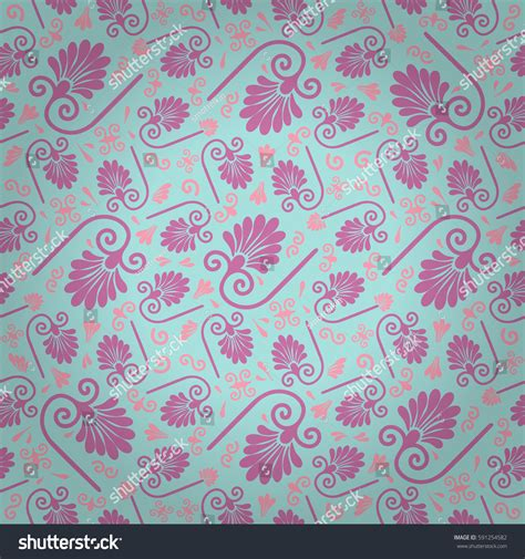 tribal pattern pink and blue baby blue pink decorative seamless pattern stock vector