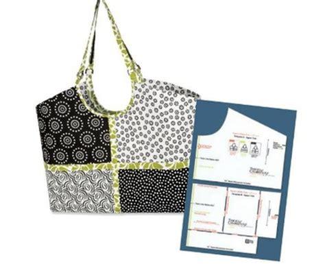 trace n create hobo tote bag template haberdashery online