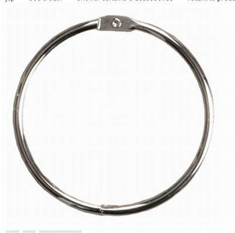 stainless steel shower curtain rings 12pcs lot fashion silver stainless steel shower curtain