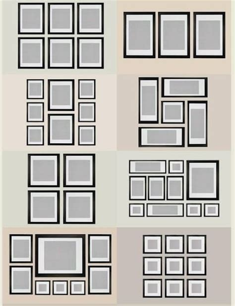gallery wall layout ikea frame layout ideas home decorating ideas