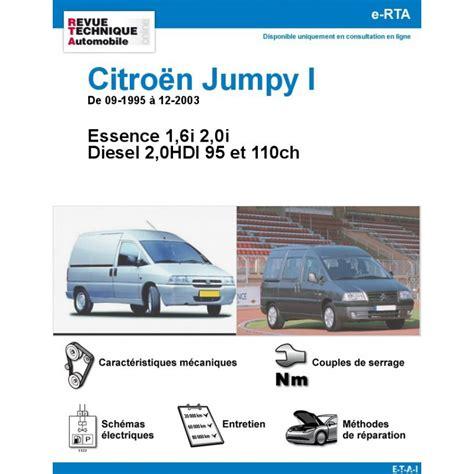 revue technique citro 235 n jumpy i essence et diesel 2 0hdi