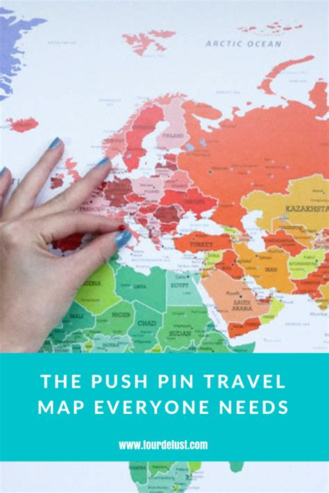 pin map travel product review push pin travel maps