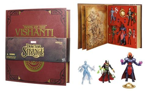 Stock Akhir Figure Doctor Strange doctor strange book of the vishanti 5 pack sdcc 2015