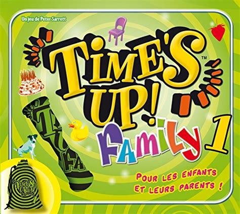 Asmodee Jeu D Ambiance 10 Ans by Asmod 233 E Tuf1 Jeu D Ambiance Time S Up Family 1 Importato Dalla Francia