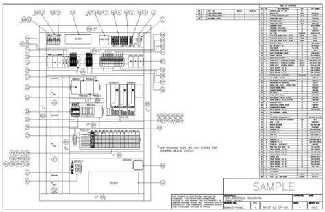 Electrical Panel Layout Design | panel layout sle