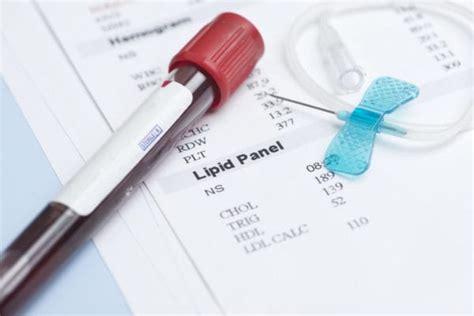 reuma test blood test lipid panel familydoctor org