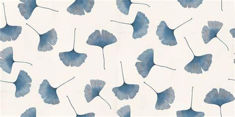 Leaves From Marimekko by Biloba 13043 Marimekko Wallpapers A Delicate Ginkgo