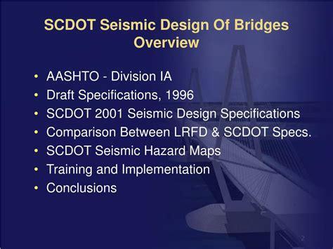 Ppt Seismic Design Of Bridges Powerpoint Presentation | ppt seismic design of bridges powerpoint presentation