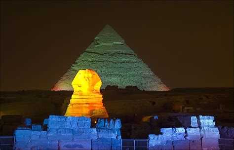 sound and light giza pyramid sound and light in giza pyramids