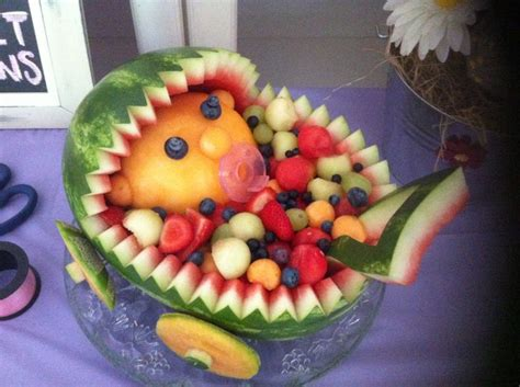 Fruit Baby For Baby Shower by Baby Shower Fruit Bowl