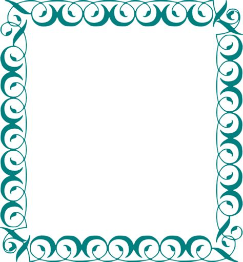 Decorative Borders by Decorative Border Clip At Clker Vector Clip