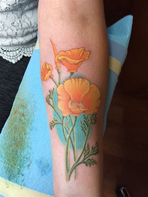 california poppy tattoo the 25 best ideas about california poppy on