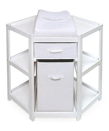 white corner changing table 1000 ideas about corner changing tables on