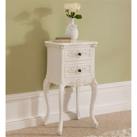 shabby chic antiques rococo shabby chic antique style bedside table shabby