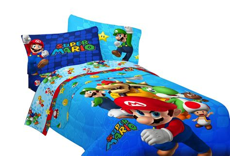 Mario Bedroom Super Mario Bedding Totally Kids Totally Bedrooms
