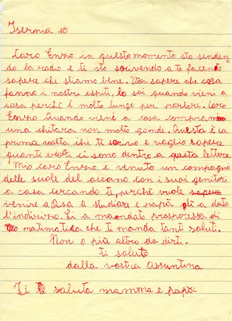 lettere per sorella l archivio quot etnografia quot