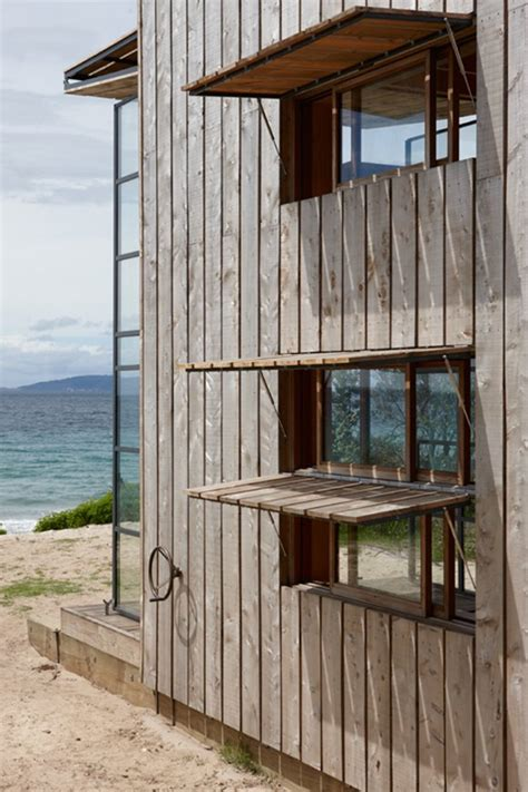 Small Home Windows Small Beachfront Home Is Also Modern Functional