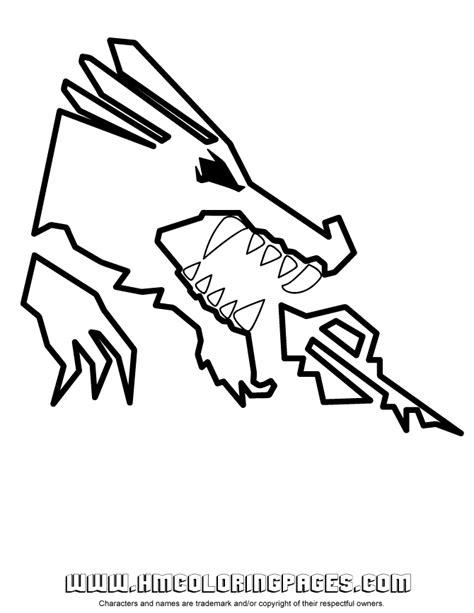 ninjago dragon coloring page h m coloring pages