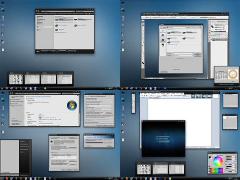 windows themes black and white black and white theme for windows 7