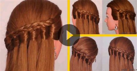 peinados con trenzas pelo suelto paso a paso www peinado con trenzas y pelo suelto paso a paso recollits