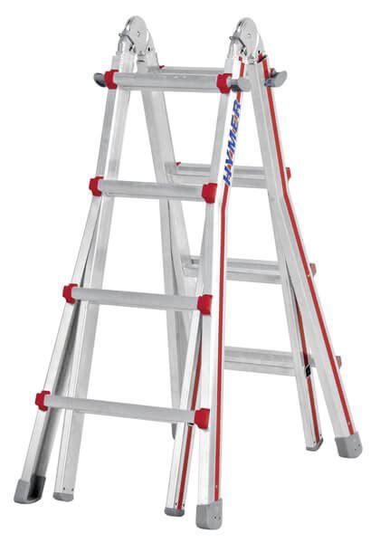 Prix Garde Corps Aluminium 4042 echelle t 233 lescopique 4 plans pour escaliers compactes
