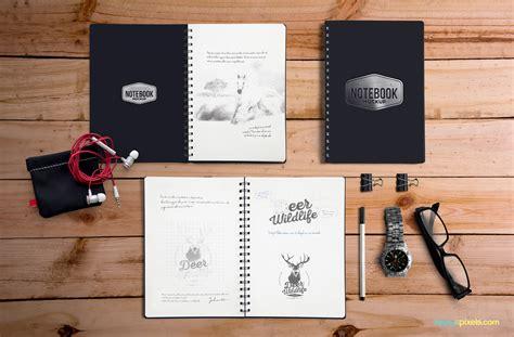 imagenes para mock up free notebook mockup zippypixels