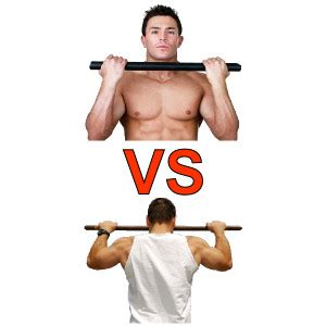 how to not to pull what gives why can i do chin ups but not pull ups girlsaskguys