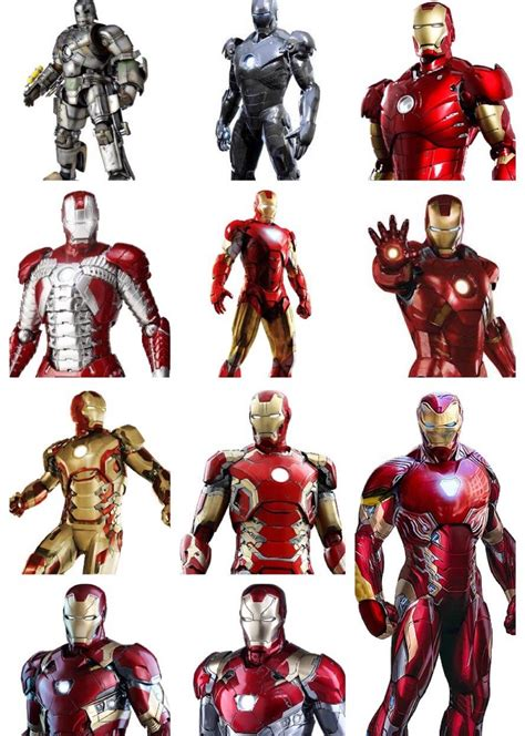 main iron man suits marvelstudios
