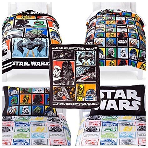 star wars twin bed in a bag star wars classic kids twin bed in a bag 5 piece set