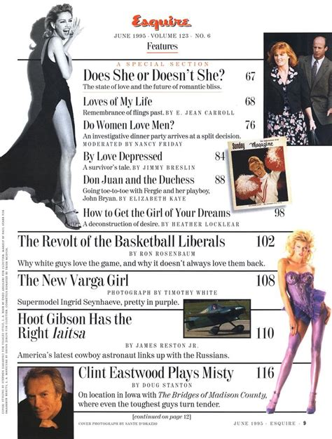 Guess Whos On The Cover Of Elleagain 2 by 17 Best Images About 80s 90s Fashion Clippings Sheets