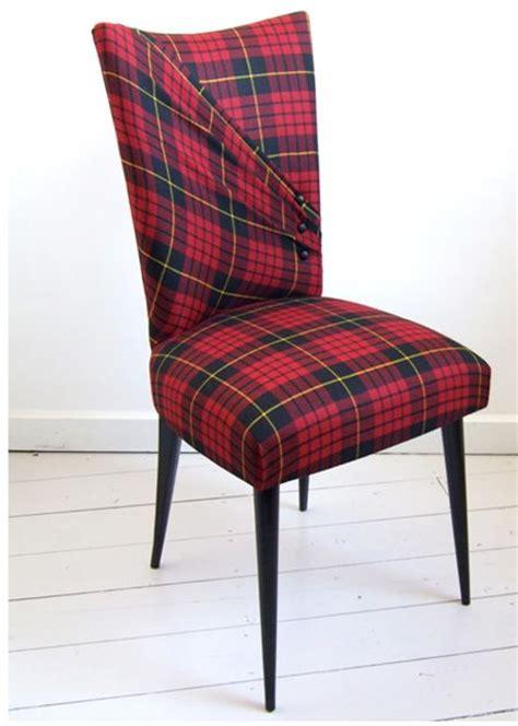 Plaid Dining Room Chair Cushions Tartan Chair Emerald Isle Ideas