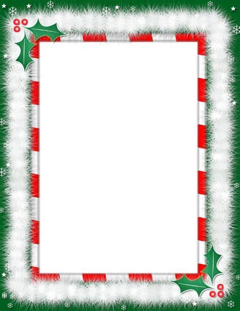 christmas letter borders christmas border template