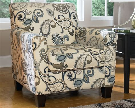 patterned fabric arm chair furniture chicago