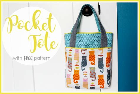 tote bag pattern free youtube tote bag sewing patterns and tutorials sugar bee crafts