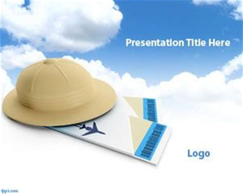 Travel Powerpoint Template Free Powerpoint Templates Travel Themed Powerpoint Template