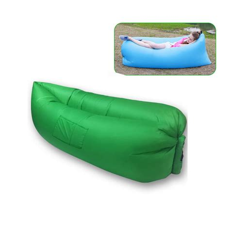 sleeping bag sofa bed fast inflatable air lazy sleeping bag 260cm camouflage
