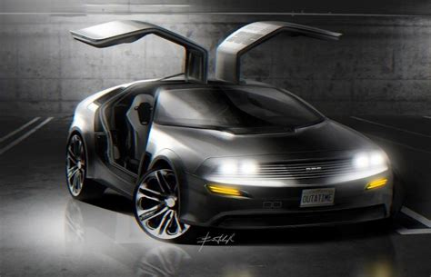 Delorean Dmc 12 Concept by Ukrainian Design Student Envisions A More Modern Take On