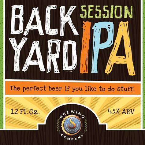 backyard brewery backyard ipa louis glunz beer inc
