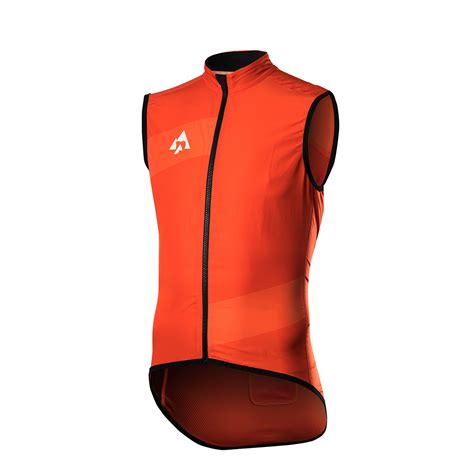 orange vest podia aerospace orange vest