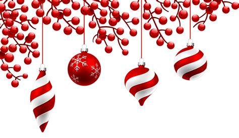 red christmas decoration png clipart image gallery